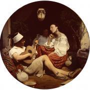 Charle PORION, El Descanso (Moeurs à Valence) © Musée des Beaux-Arts, Ville de Bordeaux
