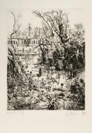 Image : Michel Desportes, Le Jardin Public. Dépôt Robert Coustet, musée des Beaux-Arts de Bordeaux. Serge Fernandez