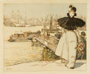 Image : Auguste Lepère, Lithographie, 1897. Bordeaux, musée des Beaux-Arts. Photo Frédéric Deval