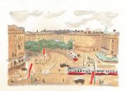 Image : Albert Marquet, Rhapsodie parisienne de Jean Cassou. Planche V. Bordeaux, musée des Beaux-Arts. Serge Fernandez