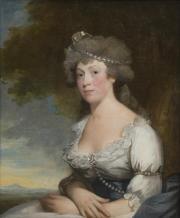 Gilbert Stuart, Portrait de Mrs James Arden, 1794 © Musée des Beaux Arts - Mairie de Bordeaux