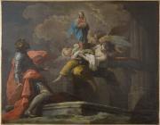 Apparition de la Vierge à saint Ferdinand III de Castille, Antonio González Velásquez © Musée des Beaux-Arts-mairie de Bordeaux. Cliché F.Deval