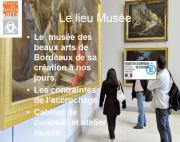 Photo pour les dossiers pédagogiques au musée © Musée des Beaux-Arts-mairie de Bordeaux.