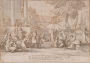 Pierre Lacour. La Prédication de Jonas aux Ninivites © Musée des Beaux-Arts-mairie de Bordeaux. Cliché F.Deval