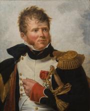 Lagrénée, Portrait du colonel Poudavigne © Musée des Beaux-Arts
