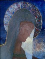 """Photographie oeuvre """"Vierge"""" de Roger Lataste Sabatié"""