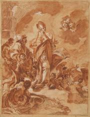 Un miracle de saint Janvier, Francisco La Marra© Musée des Beaux-Arts-mairie de Bordeaux. Cliché F.Deval