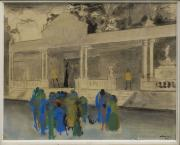 Lèg Albert Rèche au musée des Beaux-Arts de Bordeaux - Robert Charazac - La baraque de Saint Antoine
