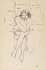 Albert MARQUET, Le Repos du modèle © Musée des Beaux-Arts, Ville de Bordeaux