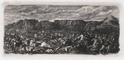 Rodolphe Bresdin.Bataille dans une plaine rocheuse © Musée des Beaux-Arts-mairie de Bordeaux. Cliché F.Deval