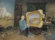Georges Achille-Fould, Rosa Bonheur dans son atelier, 1893, collection musée des Beaux-Arts de Bordeaux