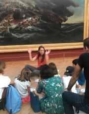 Intergenerational visits © Musée des Beaux-Arts de Bordeaux