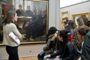 photo visite lycée musée beaux arts bordeaux