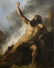 Image : Le Xanthe par Jean Alaux. Collection du musée des Beaux-Arts de Bordeaux