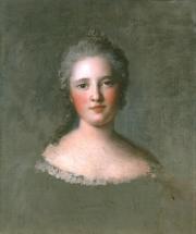 """""""Etude pour le portrait de Marie-Josèphe de Saxe"""", 1750. Jean Marc Nattier"""
