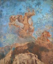 """""""Le char d'Apollon"""", 1909. Odilon Redon."""