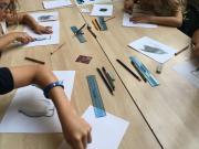 Cours de dessin au Musée des Beaux-arts