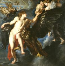"""Image de """"L'Enlèvement de Ganymède"""" © Musée des Beaux-Arts de Bordeaux. Cliché L. Gauthier"""