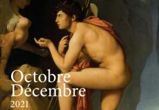 Couverture agenda, Oedipe expliquant l'énigme du sphinx, Ingres, 1808 (détail) Musée du Louvre © 2010 RMN / RMN / Stéphane Maréchallel