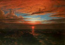 Francis Danby, <i>Sunset at Sea after a Storm</i>