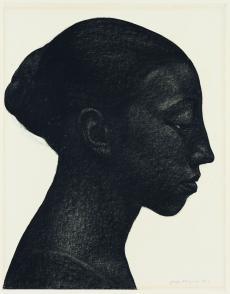 Georges Dorignac, Portrait de femme au chignon, vers 1913, © Paris, Galerie de Bayser