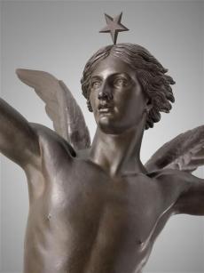 Le Génie de la liberté de Auguste-Alexandre Dumont (détail) 1836. © RMN Grand palais (musée du Louvre) Herve Lewandowski