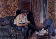 Bonnard, Les bas noirs © Musée des Beaux-Arts de Bordeaux