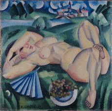 Image oeuvre d'André Lhote, Bacchante, 1912. Don Moueix au musée des Beaux-Arts de Bordeaux, 2006