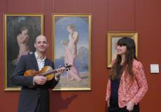 Stéphane Rougier et Isabelle Beccia au musée des Beaux-Arts de Bordeaux