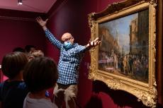 Visite de l'exposition Absolutely Bizarre ! © Musée des Beaux-Arts