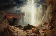 William West, <i>Les Hébreux traversant le désert</i> © Bristol, Bristol Museum & Art Gallery