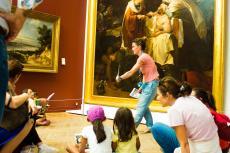Visite famille pendant les journées européennes du patrimoine