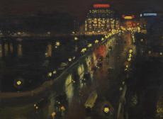 Albert Marquet, <i>Le Pont neuf, la nuit</i> © Musée des Beaux-Arts de Bordeaux, photo : F. Deval