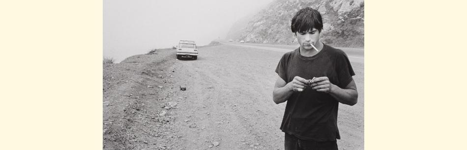 Image : Anthony Friedkin, Clockwork, Malibu (1978) - LACMA - Exposition Road Trip - Bordeaux, Musée des Beaux-Arts, 2014