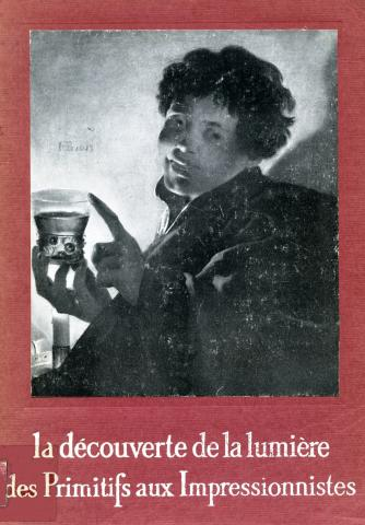 Image de la couverture du catalogue de l'exposition La découverte de la lumière, Bordeaux, 1959