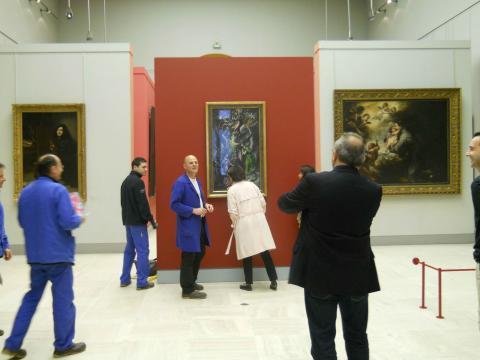 Photo pour le métier de conservateur. Collections anciennes © Musée des Beaux-Arts-mairie de Bordeaux.