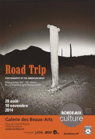 """Image de l'affiche de l'exposition d'après la photographie de Richard Misrach """"Sans titre"""""""