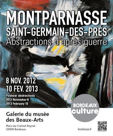 """Affiche de l'exposition """"Montparnasse St-Germain-des-Près"""