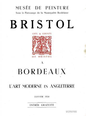 Image de l'affiche de l'exposition Bristol à Bordeaux