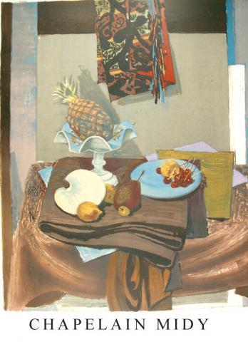 Affiche de l'exposition de 1965 Chapelain Midy