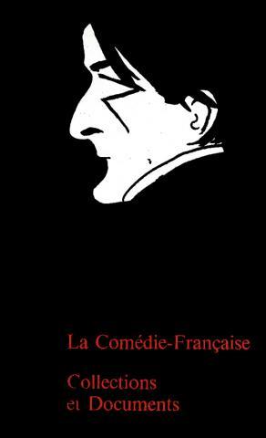 Couverture du catalogue de l'exposition itinérante La Comédie française : collections et documents, 1976