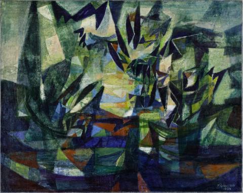 Image pour l'exposition Fédor Löwenstein (Loevenstein), musée des Beaux-Arts de Bordeaux