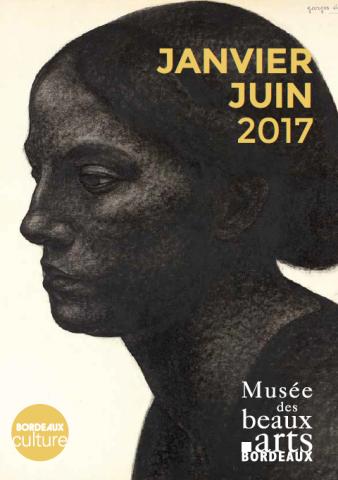 Couverture agenda musee beaux arts Janvier Juin 2017
