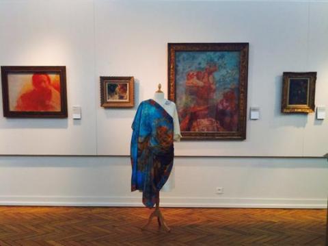 Le foulard Odilon (© Maison Pétrusse)