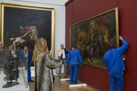 Départ de la Chasse aux Lions, photo F.Deval, mairie de Bordeaux
