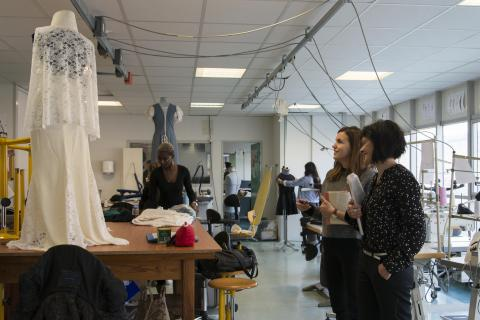 Atelier de création lycée Toulouse Lautrec - Photo Anaïs Sibelet, mairie de Bordeaux