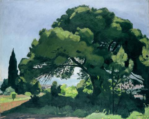 Albert Marquet, Pin à Alger, 1932