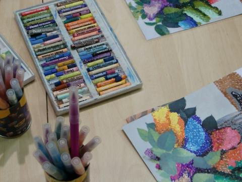 atelier de dessin pour les enfants