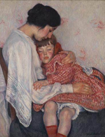 Georges Dorignac, Mère et enfant, 1906