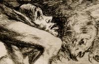 Goya, physionomiste. Planche animale (détail) © Bibliothèque nationale de Madrid